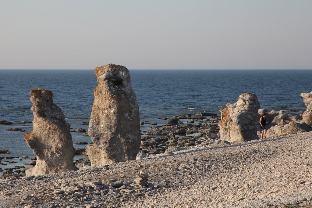 Raukene på Gotland